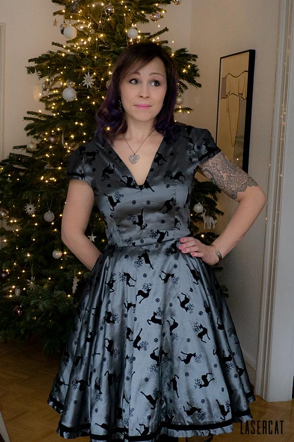 Partykleid für Weihnachten