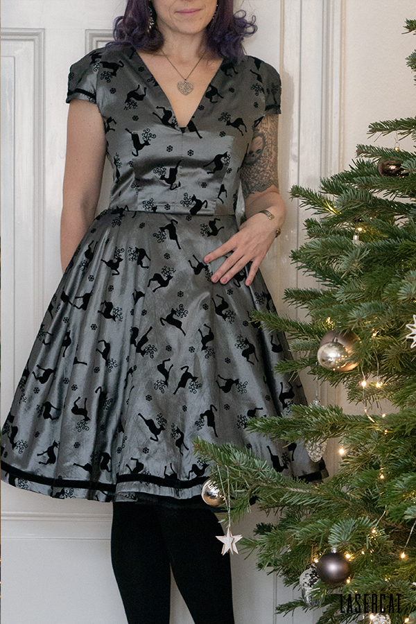 Kleid zu Weihnachten selber nähen