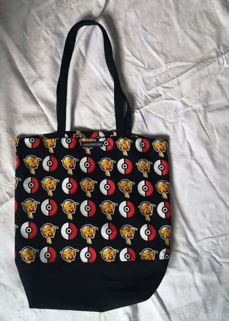 Handtasche oder Einkaufstasche mit Pikachu Motiv