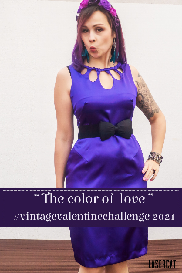 The color of love is purple