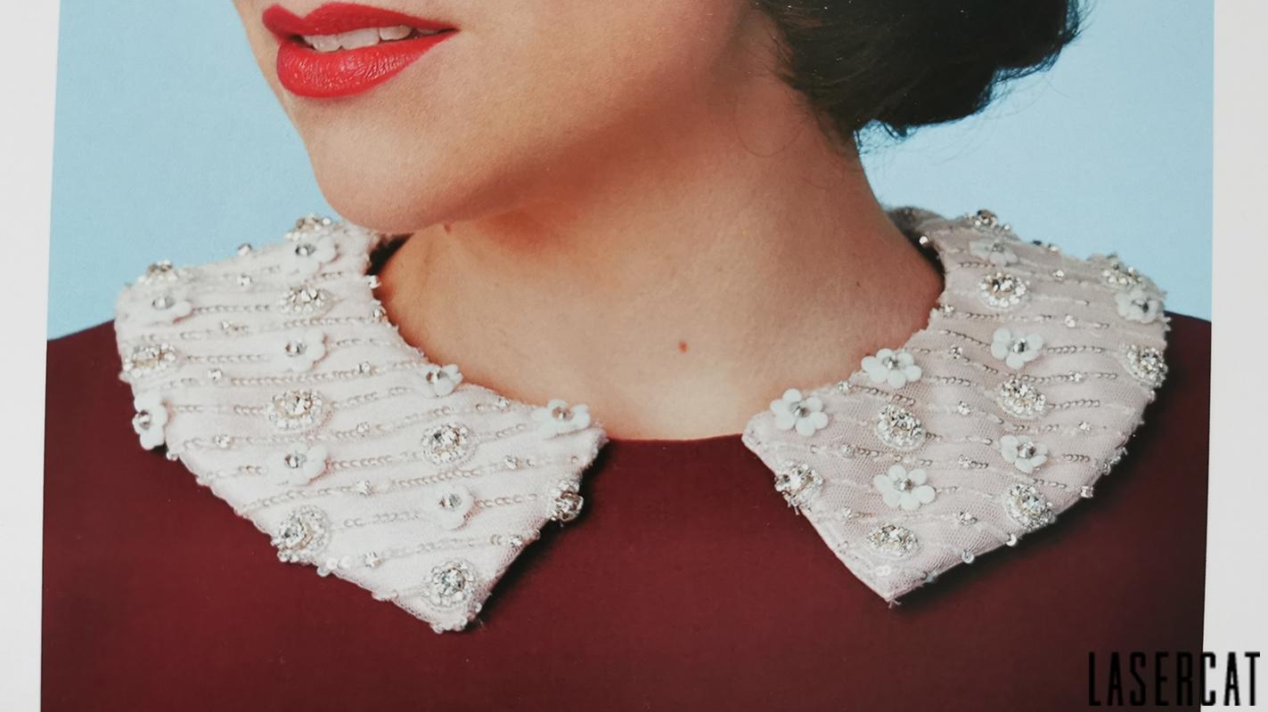 Gerties Shirtwaist Collar aus dem Buch